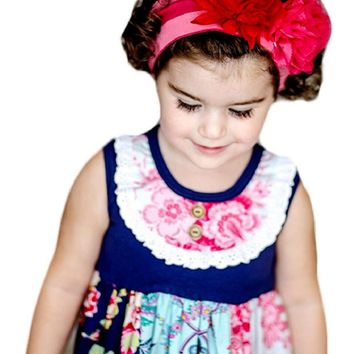 Giggle Moon-Pure in Heart knit Headband  (size Toddler)