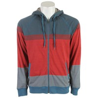 On Sale RVCA Commander Zip Hoodie Tibetan Red 2013