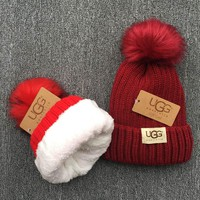 UGG Knit And Pom Hat Cap