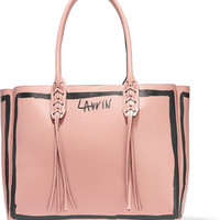 Lanvin - Printed leather tote