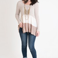 Extra Special Taupe Sweater