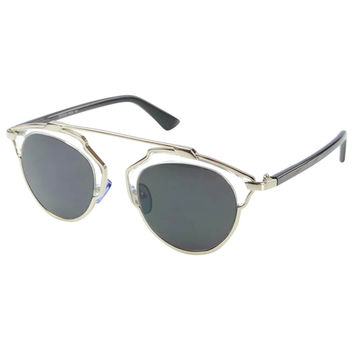 Silver Anti-reflective Color Lens Polarized Sunglasses