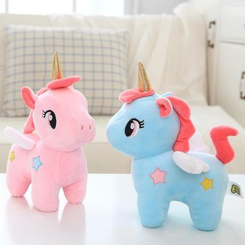 1pc 20cm Cute Unicorn Plush Toys Stuffed Animals Doll Toys Plush Unicorn Birthday Gifts Kids Girls Toys