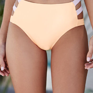 LA Hearts Thick Strap High Waisted Bikini Bottom at PacSun.com cb90417f7