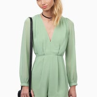 Close Up Pleated Romper