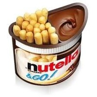 Nutella and Go (3x39g/3x1.37oz) Pack of 3