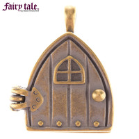 Antique Brass Fairy Door Magnetic Pendant | Hobby Lobby | 978809