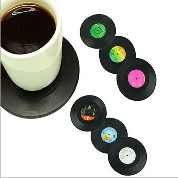 Hot Sale Cute Hot Deal On Sale Coffee Drinks Creative Silicone Vintage Classics Anti-skid 6-pcs Cup [6283310342]