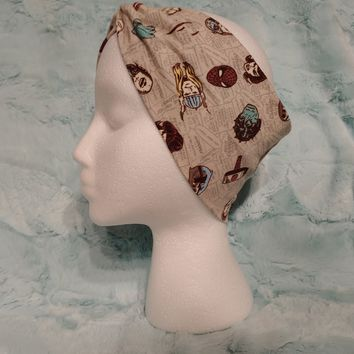 Old Time Marvel Knot Headband