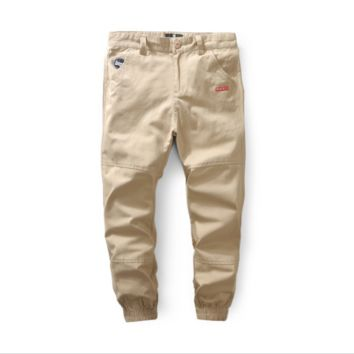 SUBCIETY tide men 's large size men' s young men 's trousers overalls trousers Pants leisure trousers Khaki