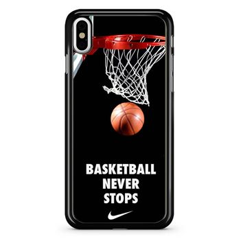 Michael Jordan Basketball Quotes iPhone X Case