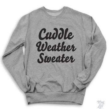 Cuddle Weather Sweater