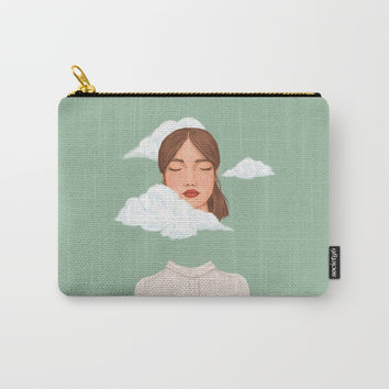 Head in the Clouds Carry-All Pouch by marylobs