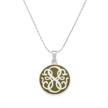 Alex and Ani Avocado PATH OF LIFE Expandable Necklace - Shiny Silve...