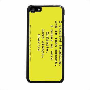 perks of being a wallflower iphone 5c 5 5s 4 4s 6 6s plus cases