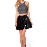 Chainmail Reversible Crop