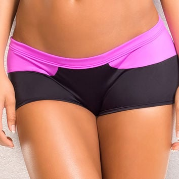 Vertical Vixen Splash, Gypsy Workout Shorts
