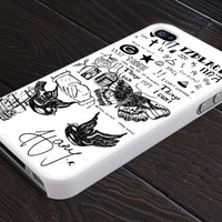iPhone Case, 1D Harry Styles Tattoo