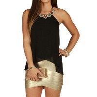 Promo-be Jeweled Halter Top