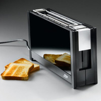 Designer Wide Slot Toaster - Slender, stylish, elegant: Probably the flattest toaster in the world. - Pro-Idee Concept Store - new ideas from around the world