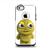 The Yellow Fuzzy Wuzzy Creature Apple iPhone 5c Otterbox Commuter Case Skin Set