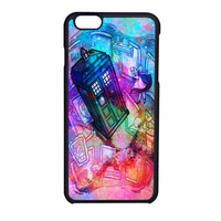 Tardis Dr Who Alice In Wonderland Galaxy Print iPhone 6 Case