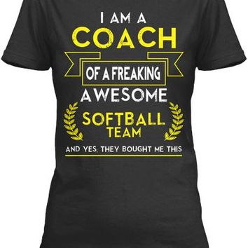 SOFTBALL COACH