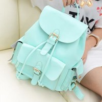 Sweet Candy Mint Green Backpack  from styleonline