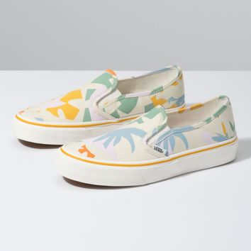 Vans Slip On SF(Leila Hurst)Floral