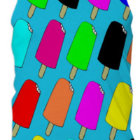Popsicles Tank Top created by trilogy-anonymous | Print All Over Me