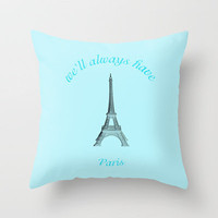 Paris Throw Pillow by def29 | Society6