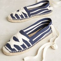 Bettye Muller Session Espadrilles in Navy Size: