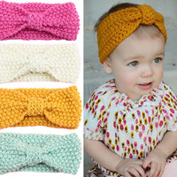Baby Girl Knitted Turban