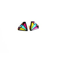 Colorful Diamond Earrings - Pre Order