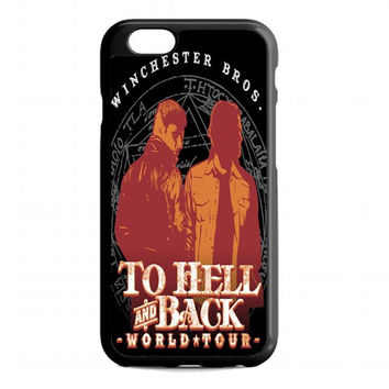 Winchester Bros World Tour For iphone 6s case