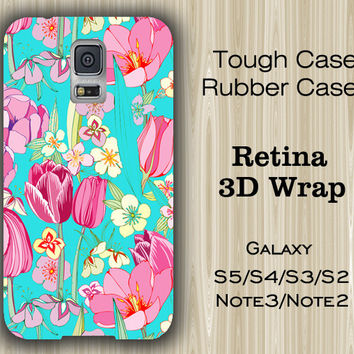 Vibrant Floral Samsung Galaxy S5/S4/S3/Note 3/Note 2 Case