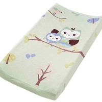 Summer Infant Infant Character Change Pad Cover, Who Loves You Owl (Discontinued by Manufacturer)