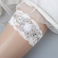 Rustic Lace Wedding Garter Sets