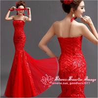 FS281 Mermaid dress Formal Evening Prom Party Dress Bridesmaid Dresses Ball Gown