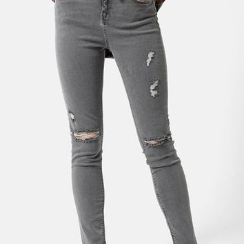 Topshop 'Jamie' Ripped Ankle Skinny Jeans (Regular & Tall) | Nordstrom