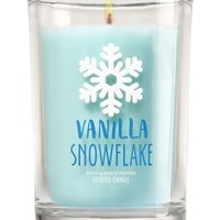 Medium Candle Vanilla Snowflake