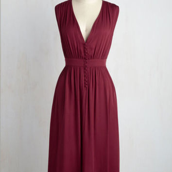 Marseille of Relief Midi Dress | Mod Retro Vintage Dresses | ModCloth.com