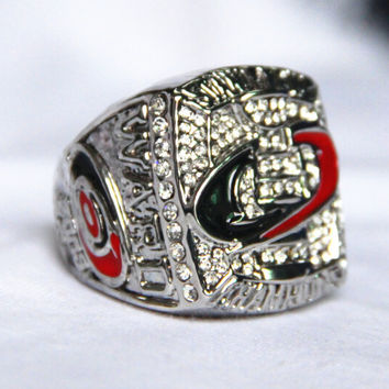 2006 Carolina Hurricanes Stanley Cup Championship Ring solid for men sport BC2841