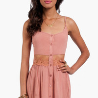 Daydreamin' Gauzy Tank Dress $54
