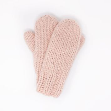 Basic Mango Yarn Mittens