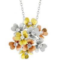 Summer Bouquet Pendant
