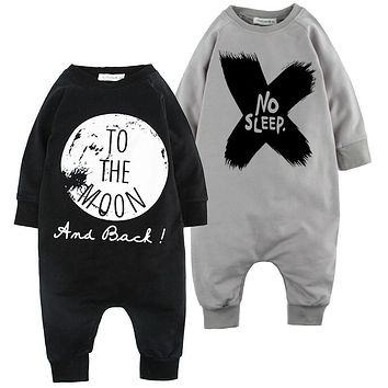 Baby Romper 2017 Spring Baby Boy Clothing Sets Roupas Bebe Infant Jumpsuits Long Sleeve Baby Girl Clothing Newborn Baby Clothes