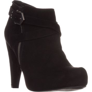 G by Guess Taylin2 Closed Toe Ankle Fashion Boots, Black, 10 US