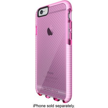 Tech21 - EVO Case for Apple® iPhone® 6 and 6s - Pink/White
