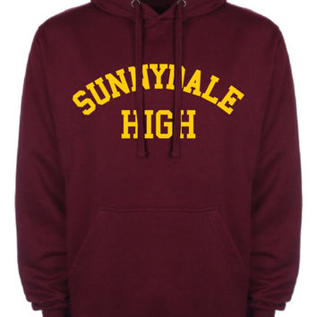 Sunnydale High School Mens Womens Unisex Cotton Hoodie Retro Geek Buffy the Vampire NEW